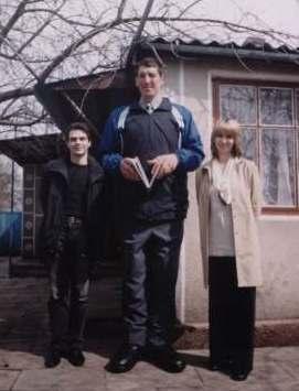 Леонид стадник самый высокий в мире