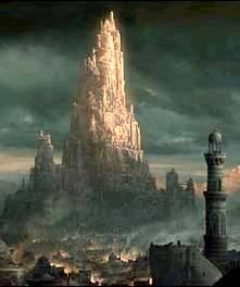 Вавилонские стены и дорога мардука